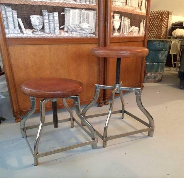Vintage factory furniture Stools Vintagefactorystools Longwood Interiors Vintage Factory Stools Longwood Interiors