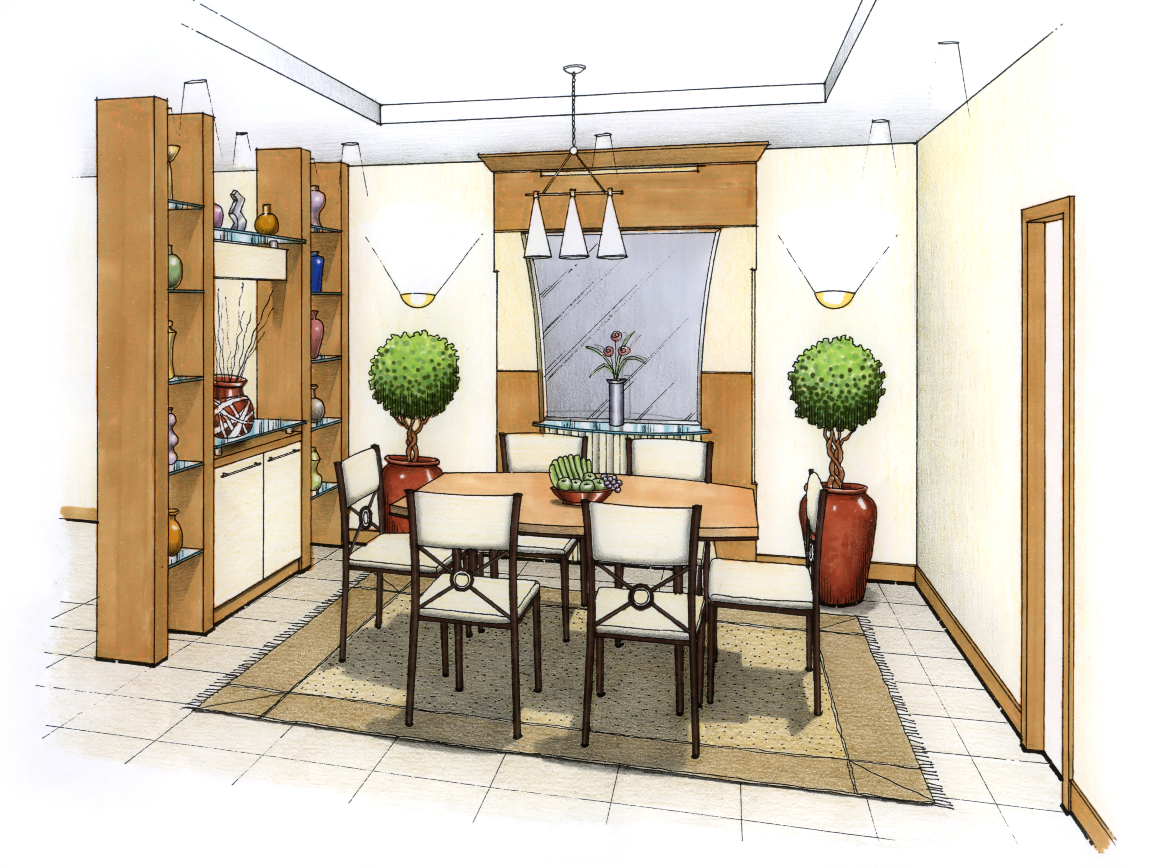 Space Planning Interior Design space planning and room flow design - longwood interiors